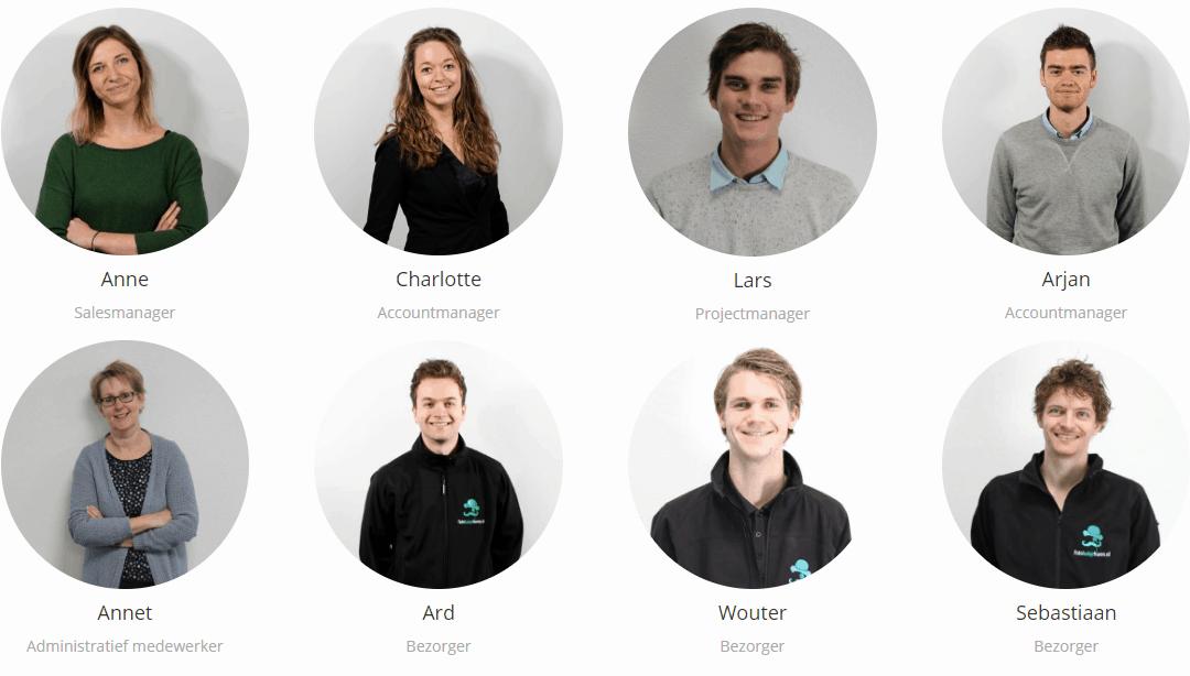 Wie werken er bij Fotohuisjehuren.nl?