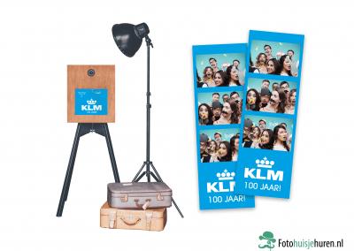 Voorbeeld KLM - Photobooth met fotostrips